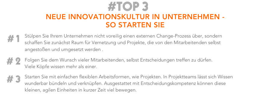 Blog Facts_Innovationskultur mit digitalen Projekten_Tandemploy_Tipps Facts